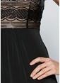 Bonprix Plus Elbise Siyah